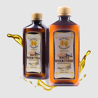 "Sesame oil ""Traditions of the North"", 350 ml."