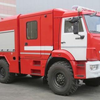 Fire truck with foam supply in compression method AC-SPK-5.0-70 (43118)