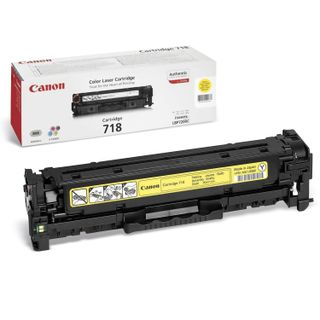 Toner cartridge CANON (718Y) LBP7200Cdn / MF8330Cdn / MF8350Cdn, yellow, yield 2900 pages, original