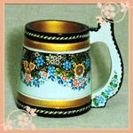 A large mug