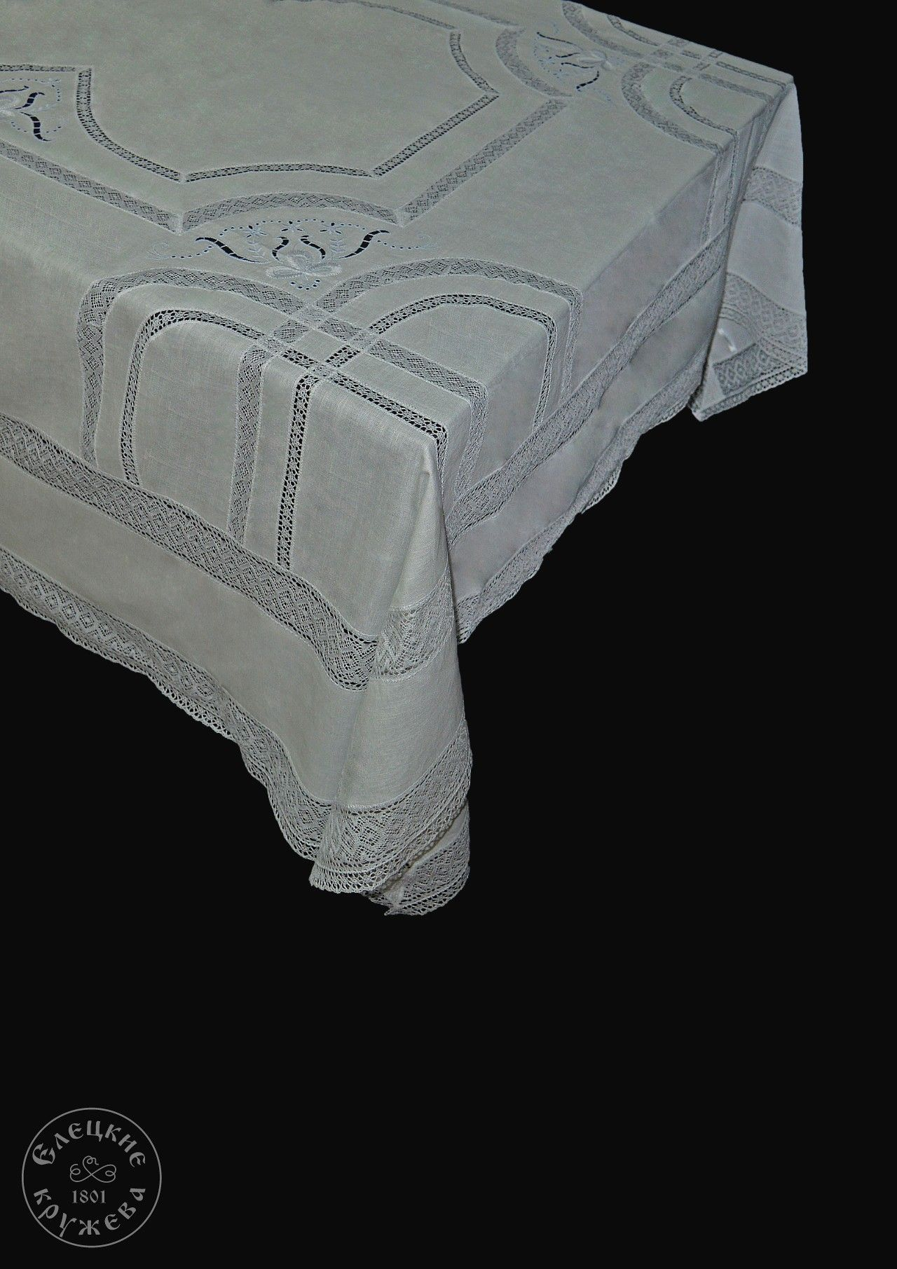 """Yelets lace / Table set """"Tablecloth and napkins"""" С2912"""