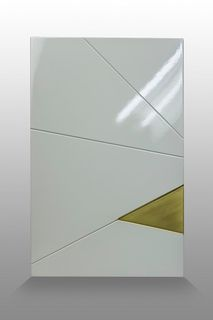 Facade furniture MDF coated with enamel