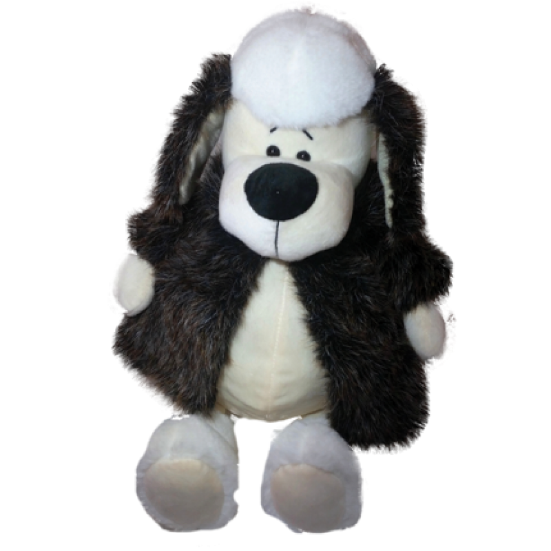 """New Year's gift Doggie """"Chanelka"""" + set of sweets 600g."""