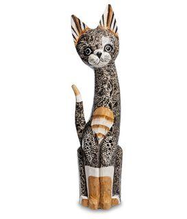 """Wooden statuette """"Cat"""" 50 cm"""