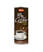 Instant Coffee Brands in Vietnam Coffee Canned 250ml