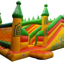 "Inflatable trampoline ""Emerald City"""