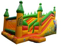 Inflatable trampoline 'Emerald City'