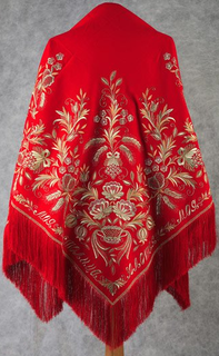 """Shawl """"Moscow Golden-domed"""""""