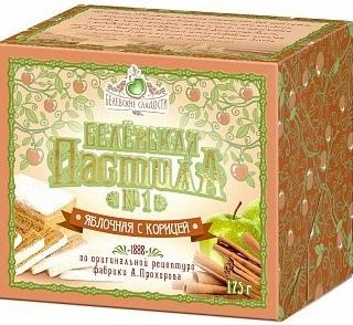 Belevskaya pastilla with apple and cinnamon, 175 g