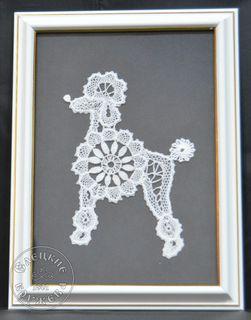 """Panels decorative lace """"Poodle"""""""