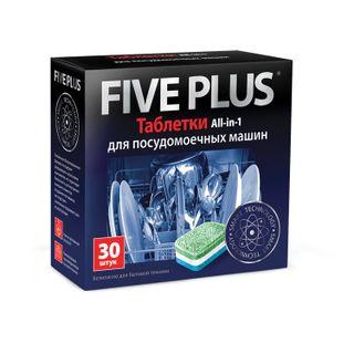 Dishwasher tablets 30 pieces FIVE PLUS