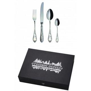 """The Cutlery set """"ambassadorial"""" 24 objects, Pavlovsky plant"""