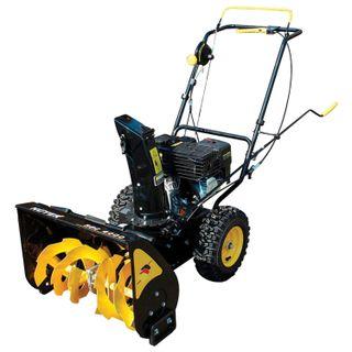 Snowplow petrol Huter SGC 4000, 4 kW, capture: 56 cm/height 42 cm, self-propelled