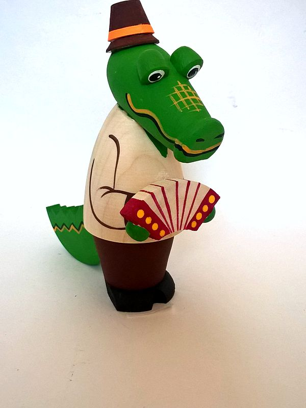 "Tver souvenirs / Fairy-tale characters ""Crocodile Gena"""