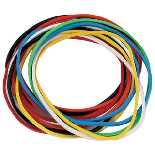 Universal bank rubber bands with a diameter of 60 mm, STAFF 1000 g, colored, natural rubber