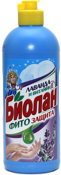 Means for washing dishes 'Biolan'