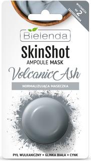 Normalizing mask, volcanicly ash, BIELENDA SKIN SHOT, 8 g