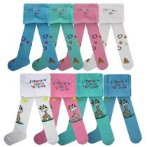 Pantyhose for children with a picture
