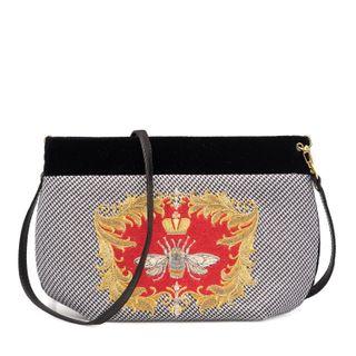 Velvet luxury bag