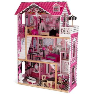 Wooden doll house Amelia