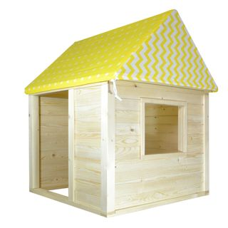 Wooden house-designer for children
