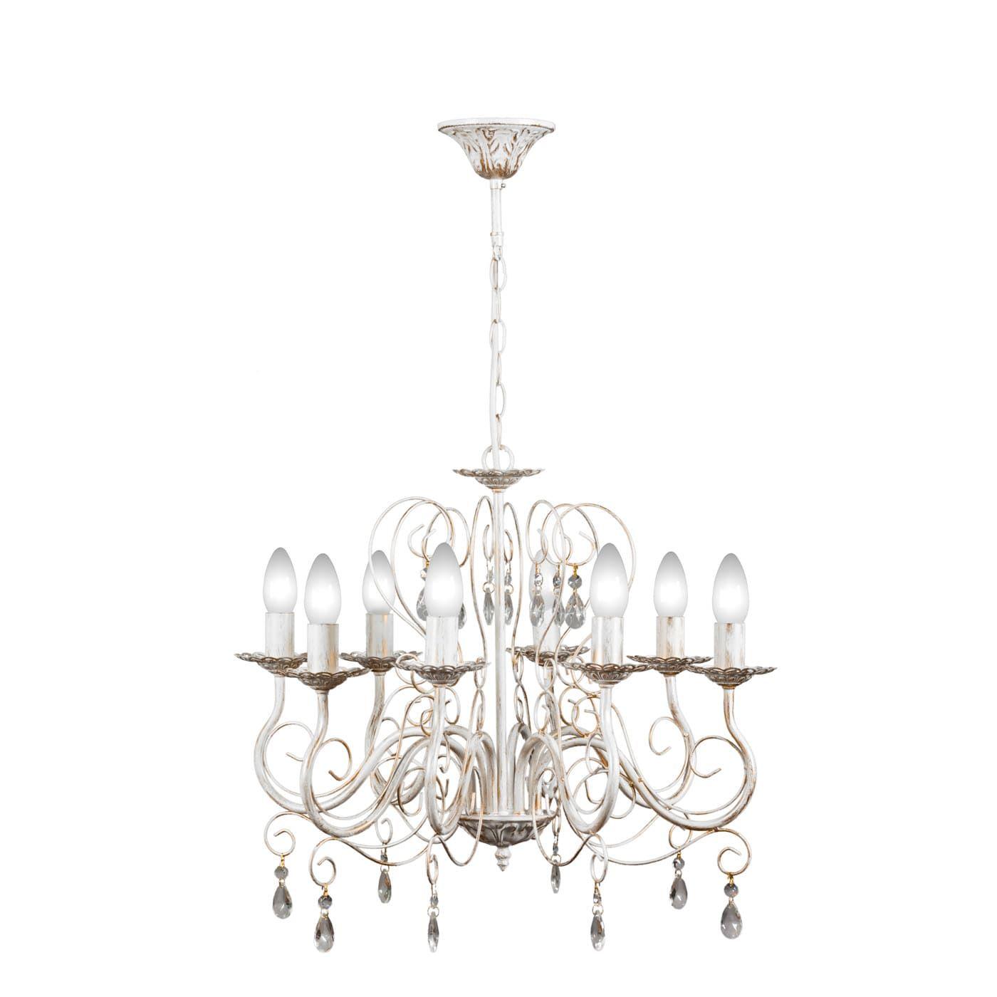 PETRASVET / Pendant chandelier S1021-8, 8xE14 max. 60W
