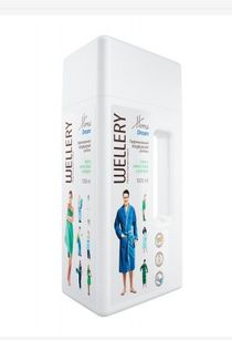 Perfumed conditioner for linen with the aroma of green apple and grapefruit - Wellery home dream, 1 l