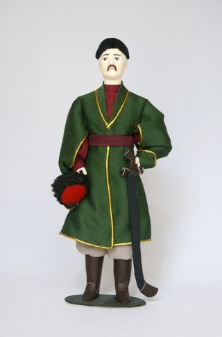Doll gift. The Cossack costume. The late 17th - early 18th century.