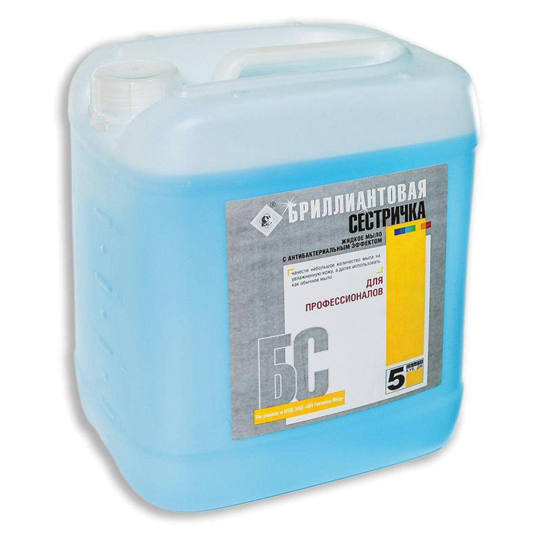 DIAMOND / Liquid disinfectant soap DIAMOND SISRICH, hypoallergenic, 5 l