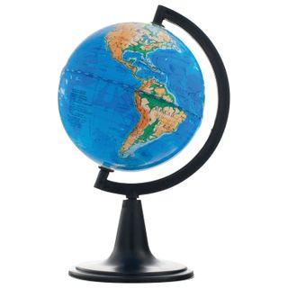 GLOBE WORLD / Physical globe, diameter 120 mm