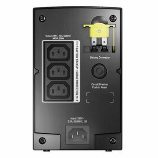 APC / Back-UPS BX500CI, 500VA (300 W), 3 IEC 320 Sockets, Black