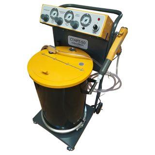 Installation Start-50-Vibro-Profi with a tank of 50 liters