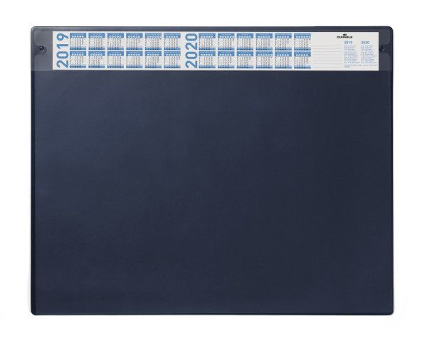 Durable / Desktop coating, with a replaceable transparent layer, 520 х 650 mm, PVC Blue