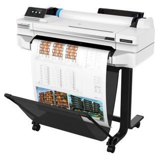 HP Designjet T525 24 (5ZY59A) A1 / A3 + Plotter, Network Card, WiFi, with stand