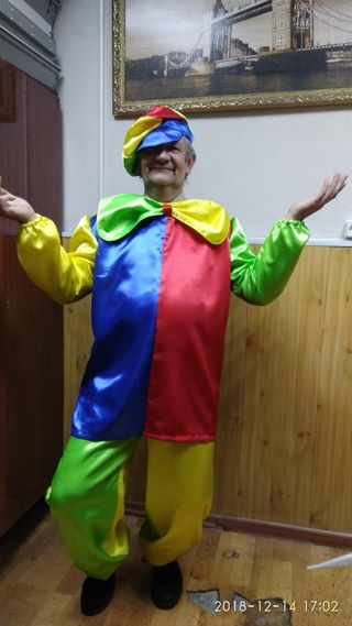Costume carnival stage Clown