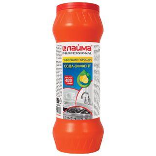 """Cleaner LYMA PROFESSIONAL Soda-Effect """"Lemon"""" powder 400 g"""