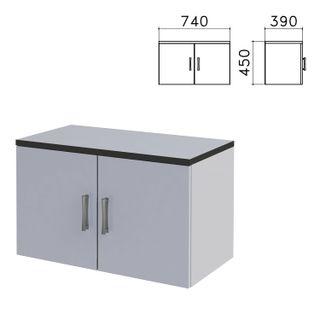 Monolith cabinet, 740 x390 x450 mm, grey