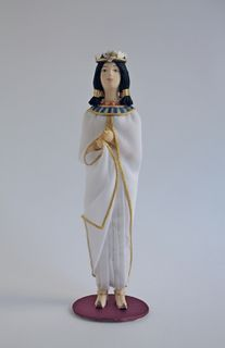 Doll gift. The Queen Of Egypt. 13th century BC, Ancient Egypt
