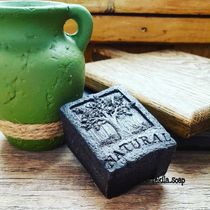 Organic soap 'Black clay'