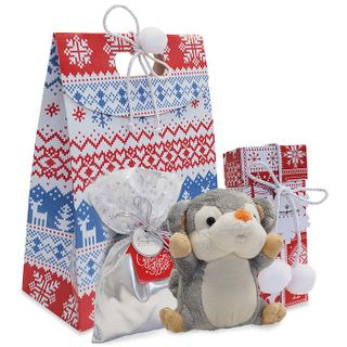 Gift set with a plush toy