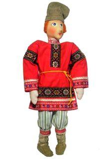 "Doll gift. ""Peasants""guy"
