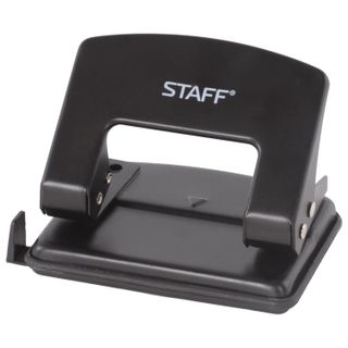 Hole punch the STAFF
