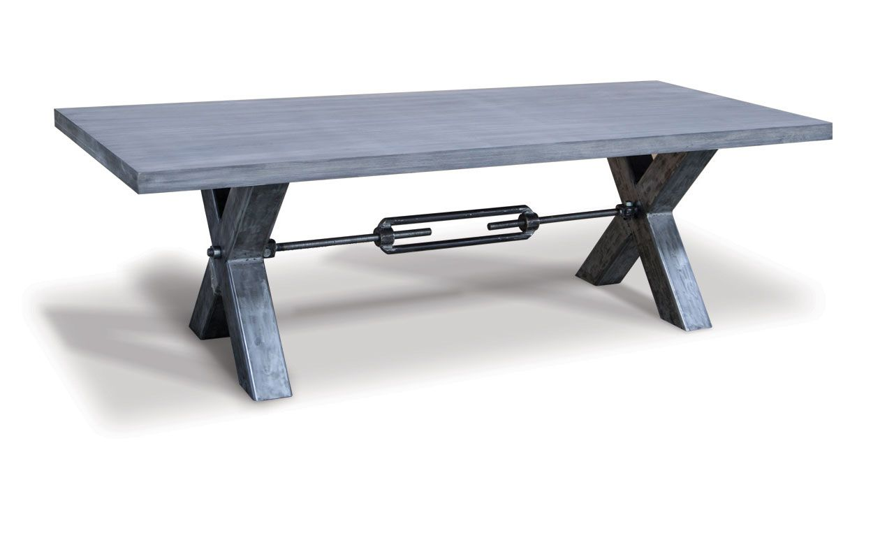 "Table solid oak ""Xerxes"""
