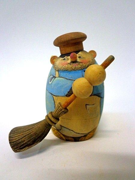 """Tver souvenirs / Casket """"Janitor"""""""