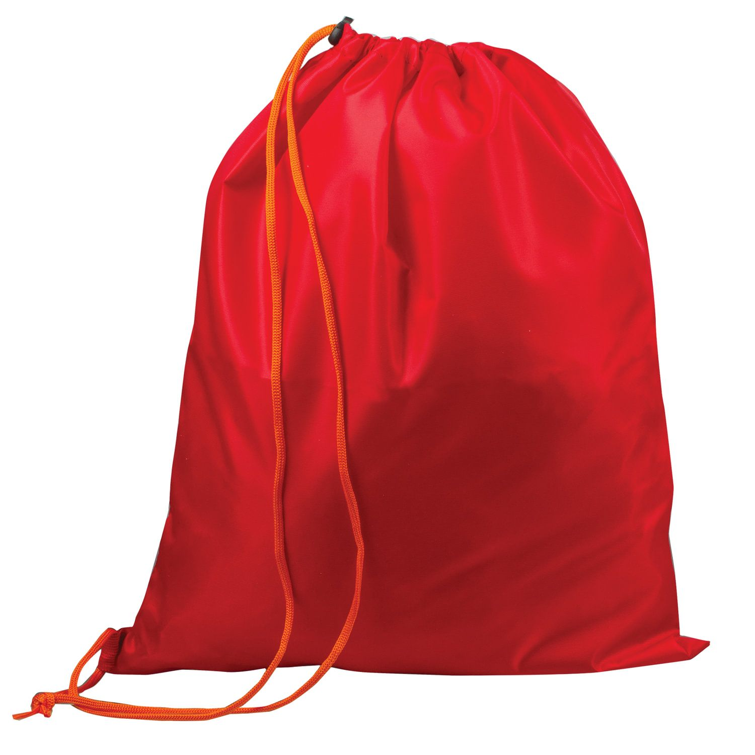 Shoe bag TOP-SPIN for elementary school students, 1 cord with plastic retainer, red, 43х35 cm