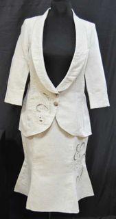 Costume for women, linen cloth