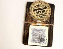 Handmade souvenir Fridge magnet notepad Best husband