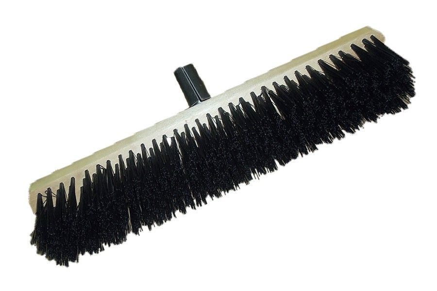 Torzhok Brush Enterprise / Large-area sweeping brush with metal holder 500 mm