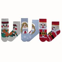 New Year's baby socks