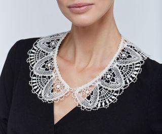 Lace collar 85, Madame Cruje